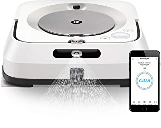 ブラーバジェットm6 アイロボット 床拭きロボット マッピング 水拭き Wi-Fi対応 遠隔操作 静音 複数の部屋の清掃可能 m613860 ホワイト【Alexa対応】
