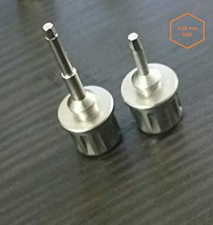 Dental Implant Drivers Hex 1.25mm Short and Long Straumann Megagen Fit
