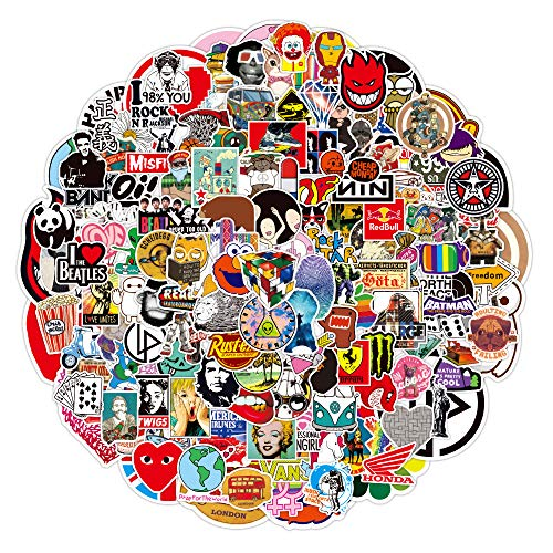 YCYY 200 Cross-Border Brand Graffiti Stickers Notebook Scooter Luggage Waterproof Stickers