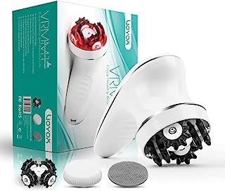 VOYOR Appareil de Massage Anti Cellulite Electrique Massage Cellulite Masseur pour Tete Dos Pied Visage Cervicale avec 3 T...