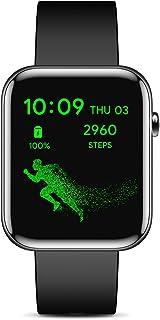 TicWatch GTH スマートウォッチ 10日間のバッテリー持続 5ATM防水 14運動モード 睡眠モニタリング 着信/アプリ/メッセージ通知 天気予報 音楽制御 ストップウォッチ 軽量 ios& Android 対応