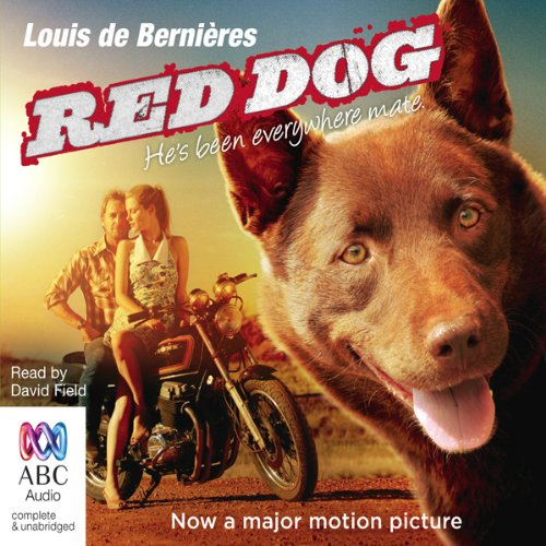 Red Dog audiobook cover art