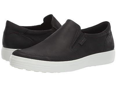 ECCO Soft 7 Slip-On (Black) Men