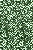Papel Décopatch No. 662 - Paquete de 20 hojas (395 x 298 mm, ideal para papmachés) manchas verdes, c...