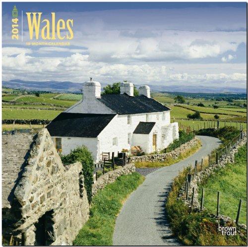 Wales 2014: Original BrownTrout-Kalender [Mehrsprachig] [Kalender]