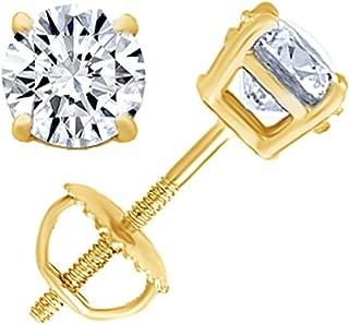 Best natural diamond stud earrings Reviews
