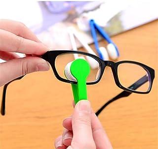 Mini Bril Brush Cleaning Tool, 5PCS Zachte oogbril Lens Reinigingsborstel Microfiber Bril Sillustraties Eyeglass Eyewear C...