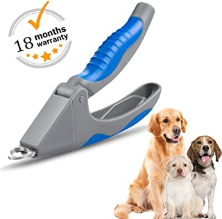 AIBORS Dog Nail Clippers, Professional Stainless Pets Nail Clippers and Trimmer Suitable for Small Medium Large Dogs Cats