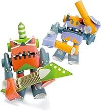 PIPEROID Peg & Rim Paper Craft Robot kit from Japan - Hard Rock Duo