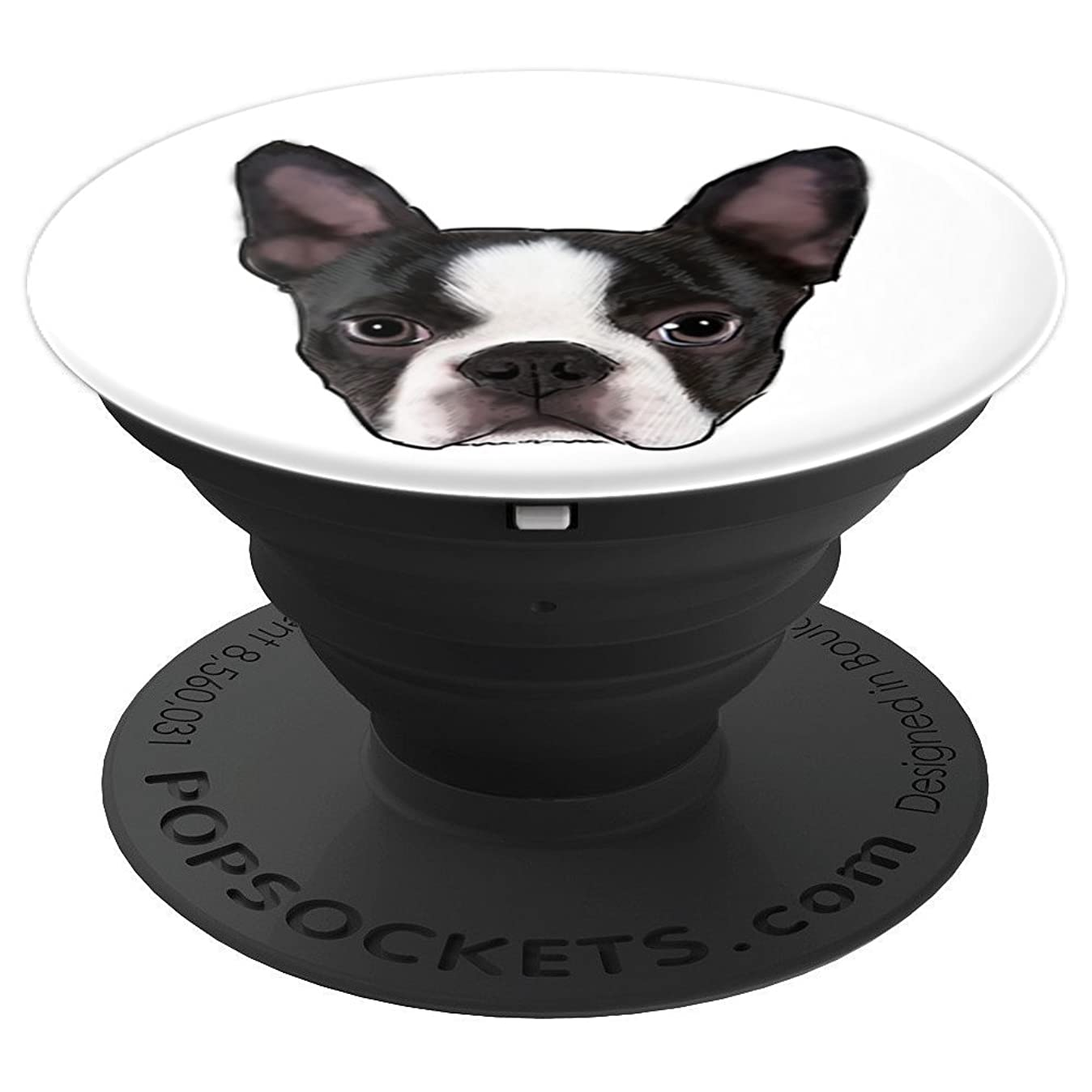 Boston Terrier Dog Lover Christmas Gift For Men Women Kids - PopSockets Grip and Stand for Phones and Tablets m9498315299