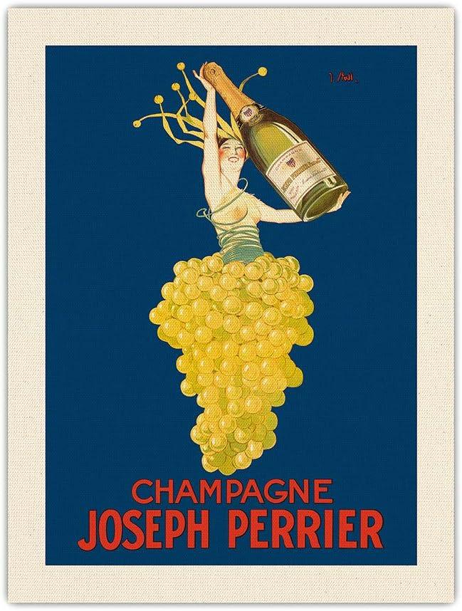 SALE開催中 Pacifica Island Art Champagne Joseph French Woman Emer - Perrier 希少