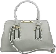 d'Orcia Charlotte Folding Top Satchel Handbag