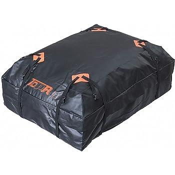 TDPRO Car Waterproof Rooftop Cargo Carrier Bag (15 Cubic Feet)