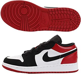 Jordan 1 Low White/Black/Gym Red (GS)