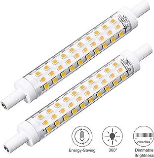 LED r7s ampoules super slim line 5w 500lm 78mm blanc chaud 3000k remplacement halogène