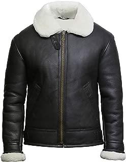 Dunkirk Tom Farrier Hardy Fur Black Leather Jacket