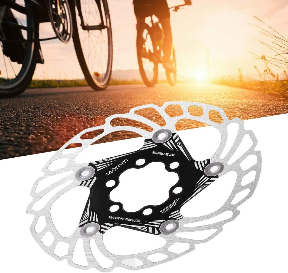 Nannday Strong and Durable Lightweight Bicycle Floating Brake Disc Tool Cycling Accessory for Road Bike Mountain Bike 140mm//5.5in Bike Floating Brake Rotors