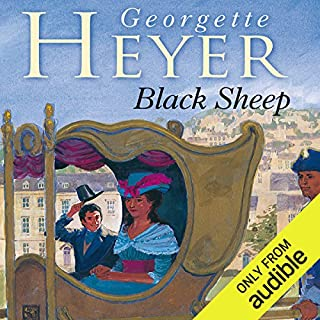Black Sheep                   By:                                                                                                                                 Georgette Heyer                               Narrated by:                                                                                                                                 Barbara Leigh-Hunt                      Length: 9 hrs and 41 mins     208 ratings     Overall 4.6