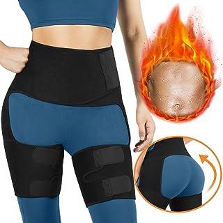 AVIDDA Waist Trainer for Women, 3-in-1 Waist and Thigh Trimmer Butt Lifter Hip Enhancer Shapewear with Adjustable Belt, Waist Slimming for Workout, Fitness, Training, Weight Loss