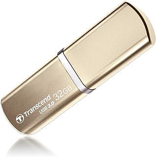 Transcend USBメモリ 32GB USB 3.0 キャップ式 ゴールド TS32GJF820G