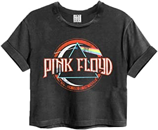 Pink Floyd On The Run Womens Cropped T-Shirt