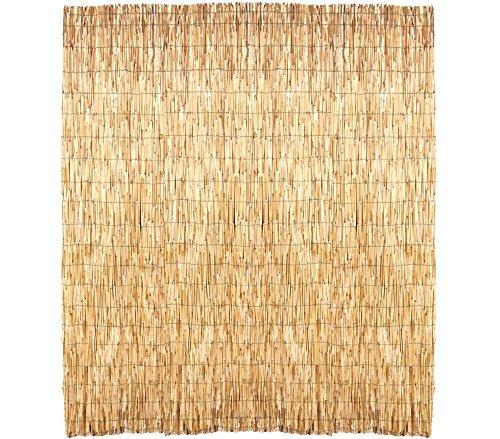 Mediawave Store Arella Bamboo perimetrale 049101 stuoia ombreggiante Recinzione 100 x 300 cm