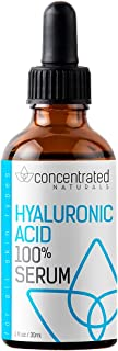 Pure Hyaluronic Acid Serum for Face | Physician Grade | May Help Smooth Appearance of Wrinkles, Brightens | May Improve th...