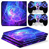 Mcbazel Pattern Series Vinyl Skin Sticker For PS4 Pro Controller & Console Protect Cover Decal Skin (Aura)