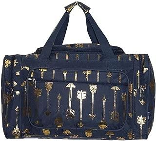 NGil J Aztec Feather Arrow Dance Cheer Sports Camp Beach Luggage Bag Tote Duffel 20