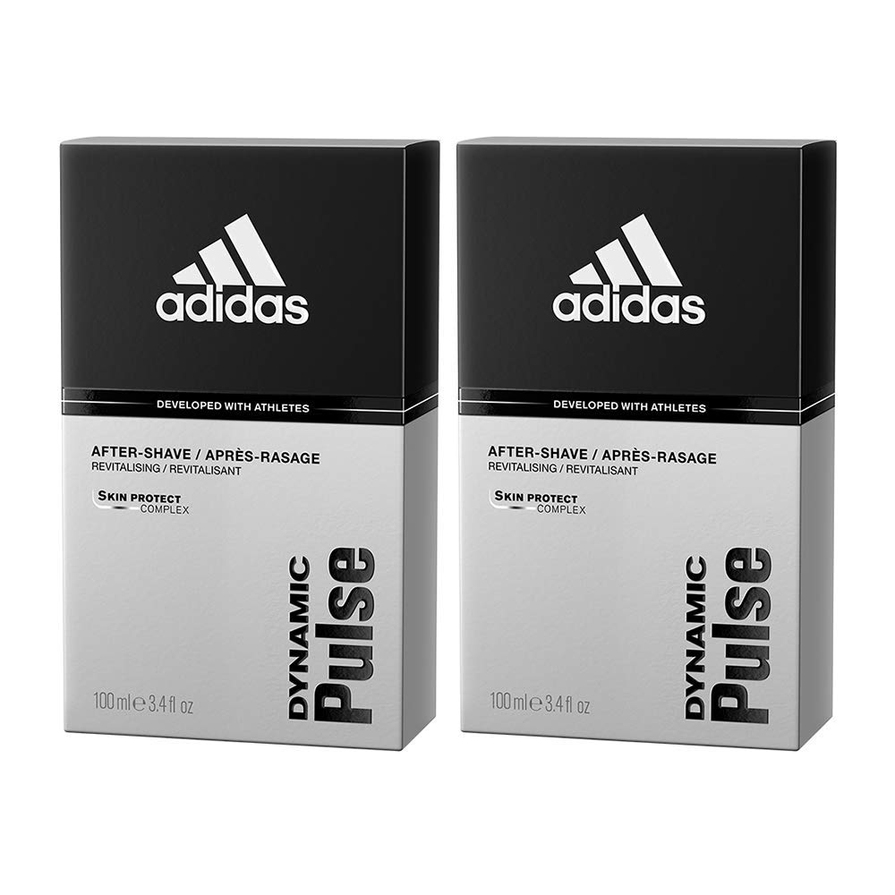 Adidas Dynamic Pulse Aftershave Translated for Men Ounce Set 3.4 Piece 2 Houston Mall