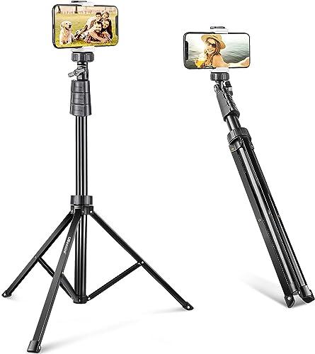 UBeesize 67'' Phone Tripod Stand & Selfie Stick Tripod, All in One Professional Tripod, Cellphone Tripod with Wireles...