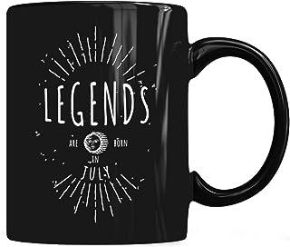 Legends are born in Jujy Mug, Legends Are Born In Jujy Mug Coffee Mug 11oz & 15oz Gift Black Tea Cups