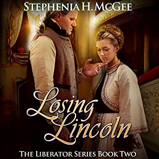 Losing Lincoln audiobook cover art