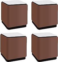 Set van 4 Lift Furniture Risers, Carbon Steel Bed Risers, Zelfklevende Heavy Duty Meubelverhogers, Voegt hoogte toe aan be...