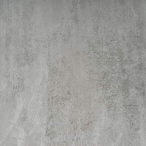 d-c-fix 346-0672-4PK Decorative Self-Adhesive Film, Concrete Grey, 17' x 78' Roll, 4-Pack