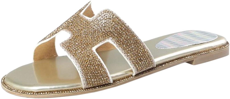 KemeKiss Women Flats Mules Sandals