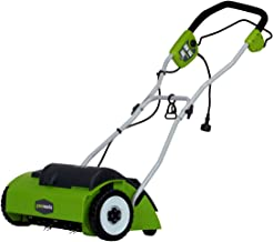 greenworks 27022 electric dethatcher