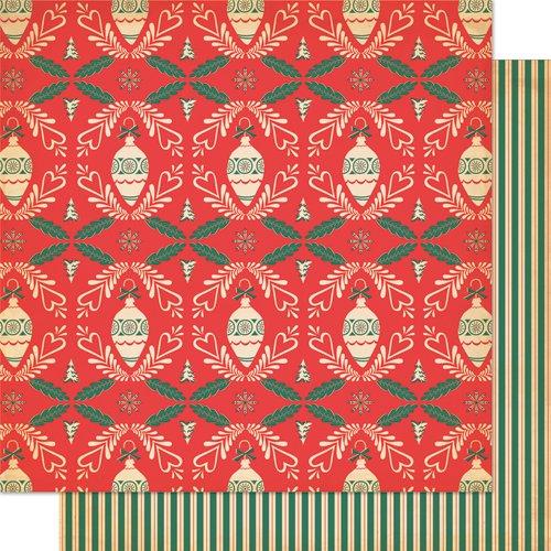 Cosmo Cricket 1Folio von Papier trim-trim-er-ee Dear Mr. Claus Kasten Scrapbooking 30cm Weihnachten