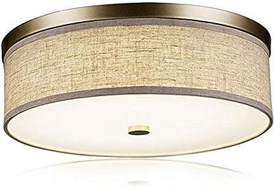 LED 18W Redondo Lámpara de Techo Moderno Paño Acrílico Pantalla de ...