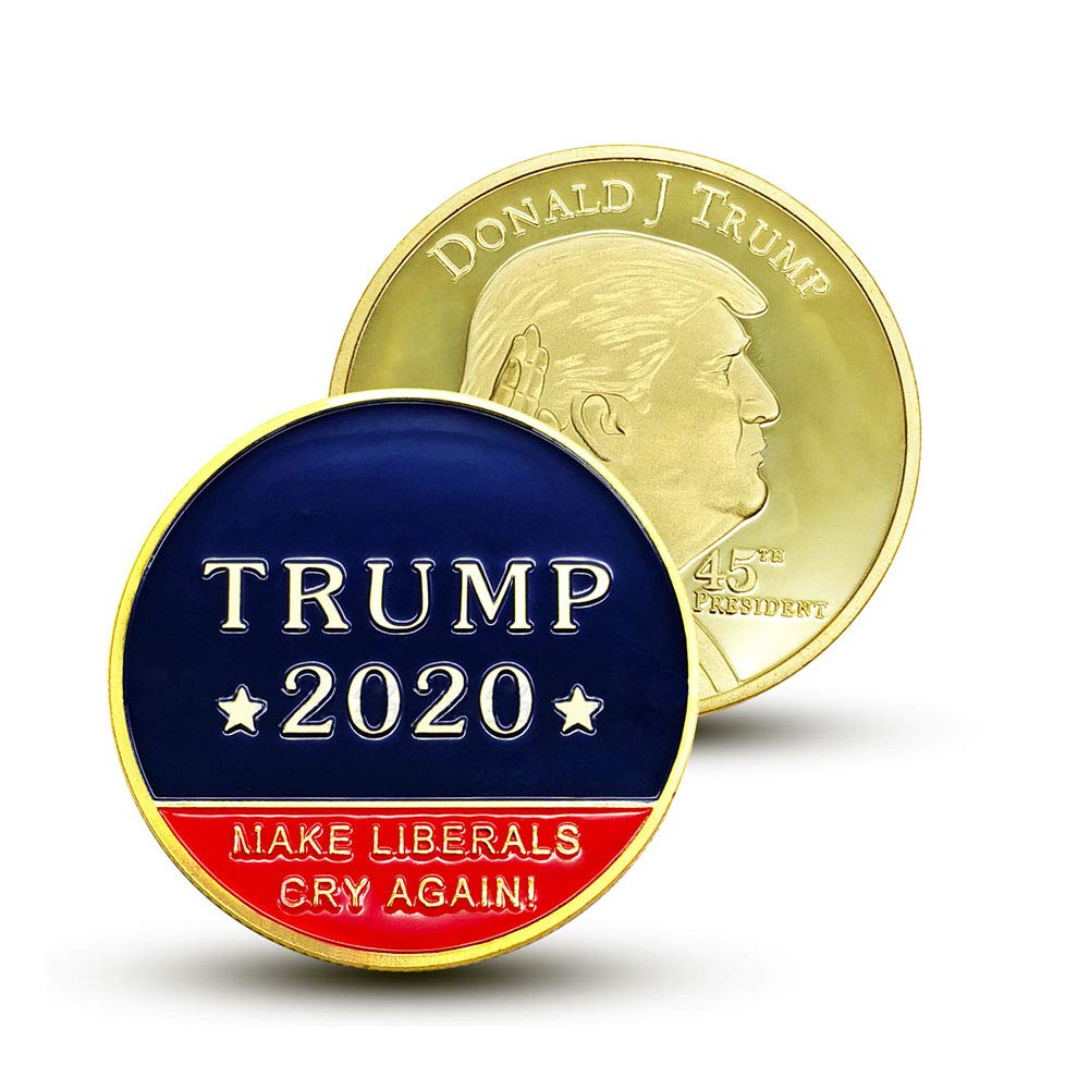 *Donald Trump 2020 45th President Commemorative Challenge Coin