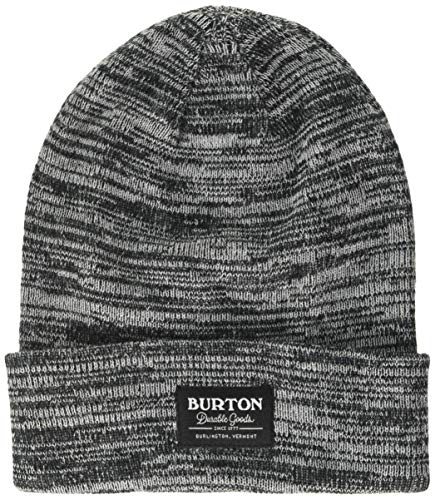 Burton Herren Kactusbunch Beanie Tall Mütze, True Black/Stout White Marl, One Size