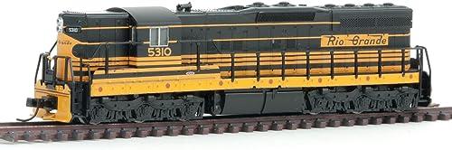 Atlas Spur N - Diesellok EMD SD9 Denver & Rio Gründe Western mit DCC