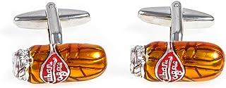 MRCUFF Cigar Pair Cufflinks in a Presentation Gift Box & Polishing Cloth
