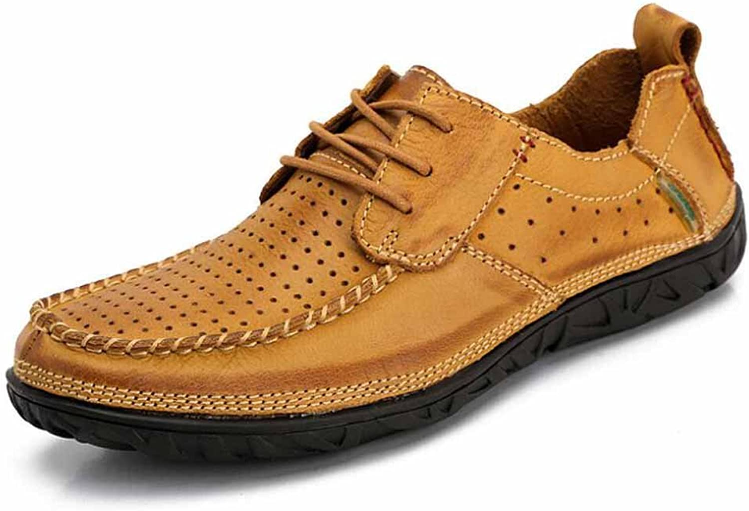 SHIXRAN Men Loafers shoes Autumn Fashion Breathable Comfortable Soft Casual shoes Handmade Leather shoes