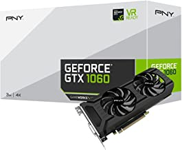PNY GeForce GTX 1060 3GB Graphics Card (VCGGTX10603PB)
