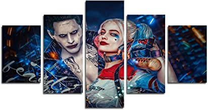 Best harley quinn painting for sale Reviews