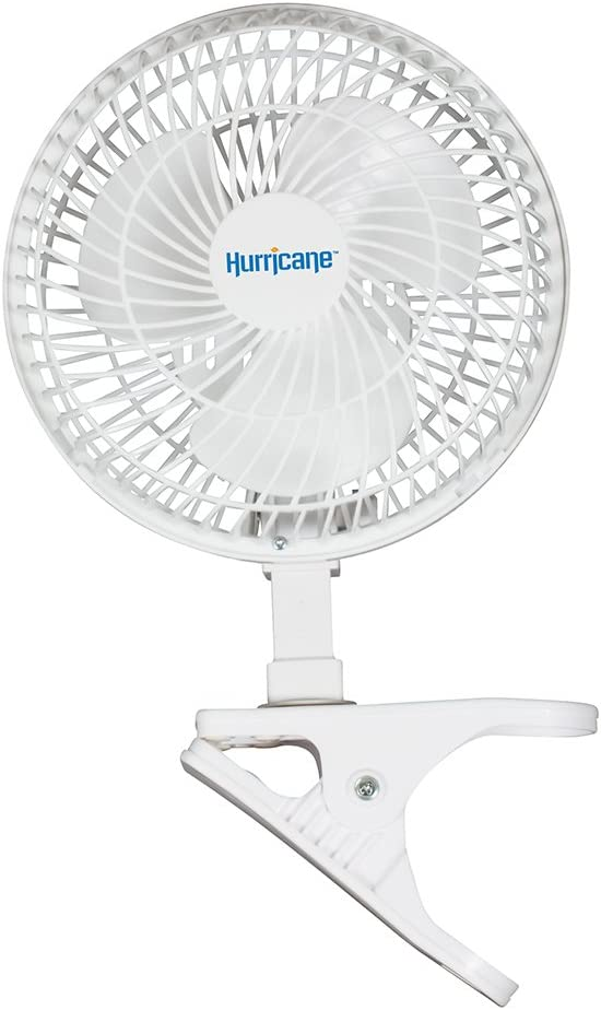 Hurricane Classic Clip Fan 6 inch