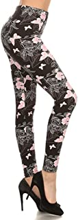 Leggings Depot Women's Ultra Soft Printed Fashion...