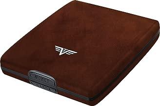 TRU VIRTU Money & Cards Wallet   Rfid Safe Leather Line (Natural Brown)