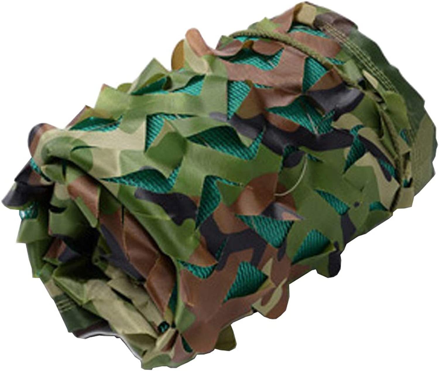Camo Netting, Thickened Woodland Camouflage Netting UV Resistant Shade Awning Car Cover for Camping Military Hunting Shooting Sunscreen Nets